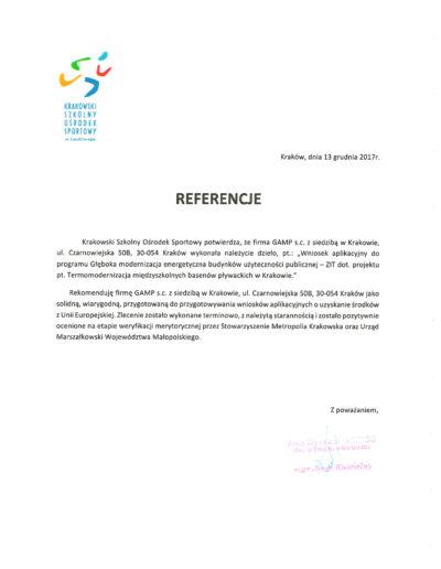 Krakowski Ośrodek Sportowy