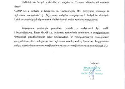 Nadleśnictwo Leżajsk